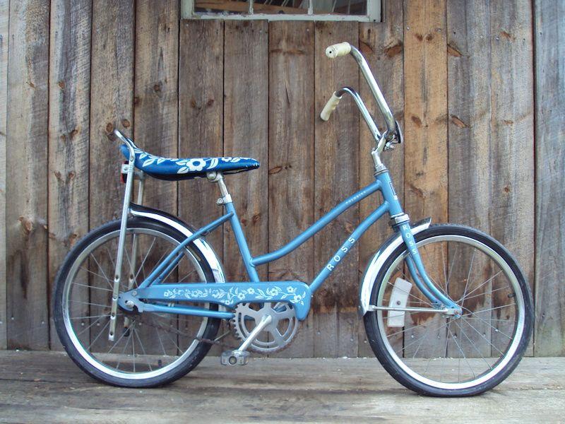 Vintage Ross Polo Bike Banana seat Late 70's original For