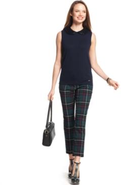 #Tommy Hilfiger           #Women                    #Tommy #Hilfiger #Pants, #Straight-Leg #Cropped #Plaid                        Tommy Hilfiger Pants, Straight-Leg Cropped Plaid                              http://www.seapai.com/product.aspx?PID=5479470