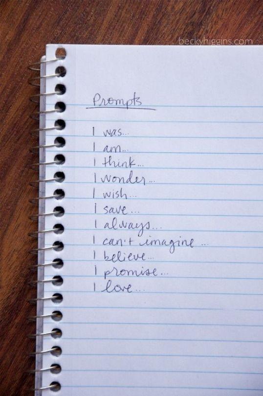 journal writing format