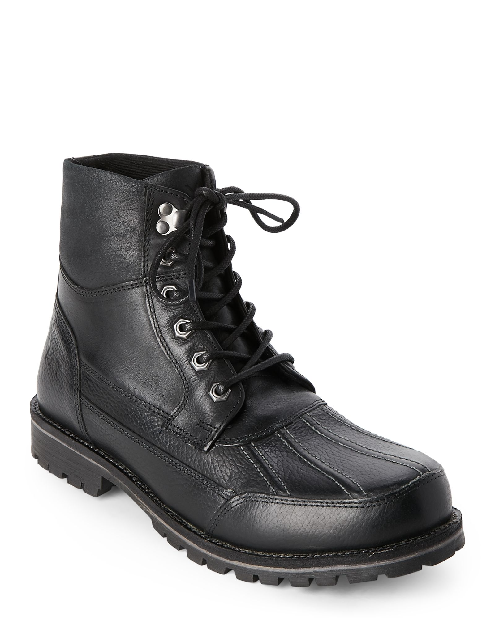 45835403f74 Black Otis Lace-Up Boots | *Apparel & Accessories* | Boots, Lace up ...