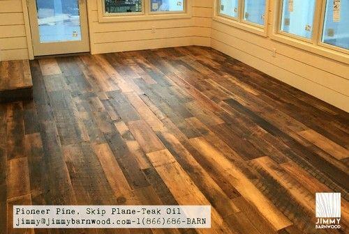 Ready To Install Reclaimed Wood Floor Pine Floor Skip