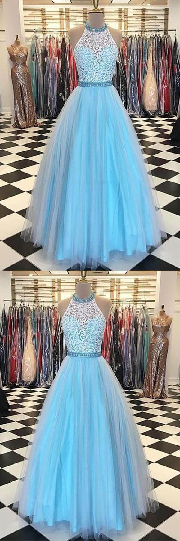 Custom made dazzling aline prom dresses sleeveless prom dresses