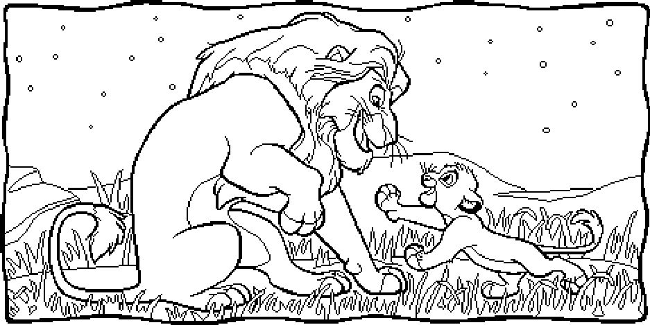 lion king coloring pages - Google-søgning | Lion King | Pinterest