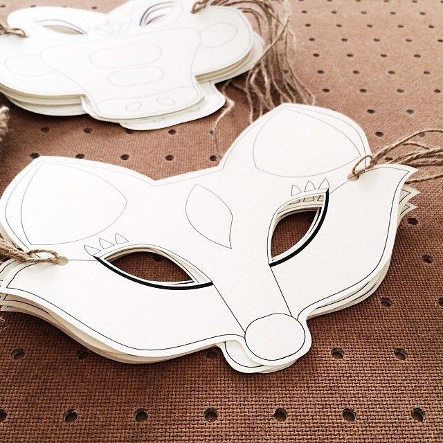 Printable Animal Masks Diy Printable Animal Masks