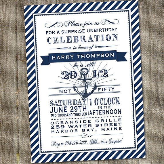 Image result for 90th birthday sailing party invitations