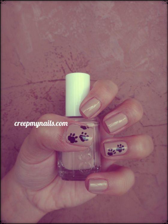 Paw Print Nail Art - Paw Print Nail Art Beauty - Nails Pinterest Paw Print Nails