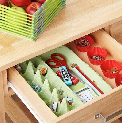 Organiza Tu Hogar Con Objetos Cotidianos Cartones De Huevos