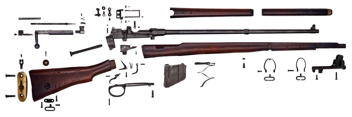 Parts manual   SMLE   Lee enfield, Weapons, Firearms