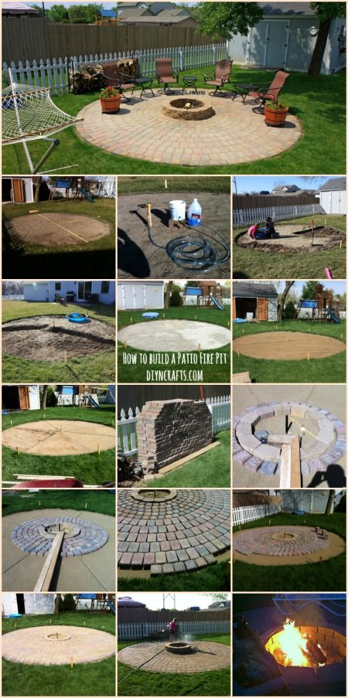 Ingenious Outdoor Project How To Build A Patio Fire Pit