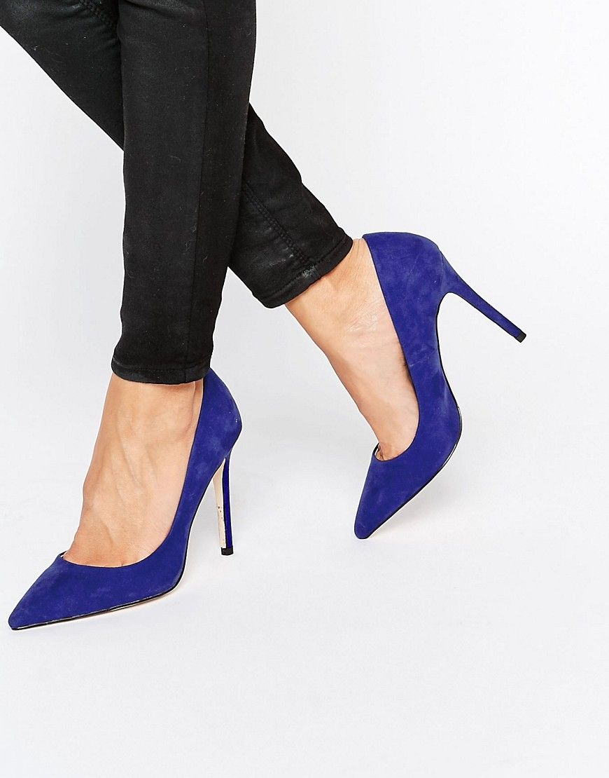 Faith Chloe Pointed Court Shoes