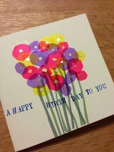 もらって嬉しい 手作りバースデーカードでお祝い 簡単 オシャレな作品集の7枚目の写真 マシマロ 手作り バースデー バースデーカード カード 手作り