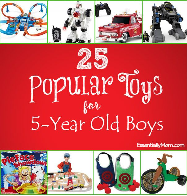 Christmas Gift Ideas For 5 Year Old Part - 40: 25 Popular Toys For 5 Year Old Boys