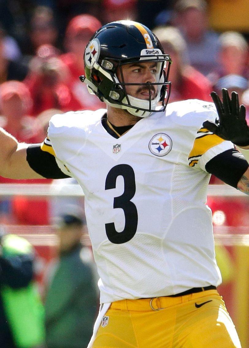 Landry Jones 3 Steelers football, Pittsburgh steelers