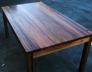 Custom Built  Children's Bedroom & Hardwood Furniture Fascinating Custom Built Dining Room Tables Design Decoration