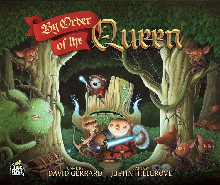 By Order Of The Queen Is A Cooperative 2 Ndash 4 Player Game With A Fantasy Role Playing Game Theme Players Take Spirit Game Board Games Fantasy Role Playing