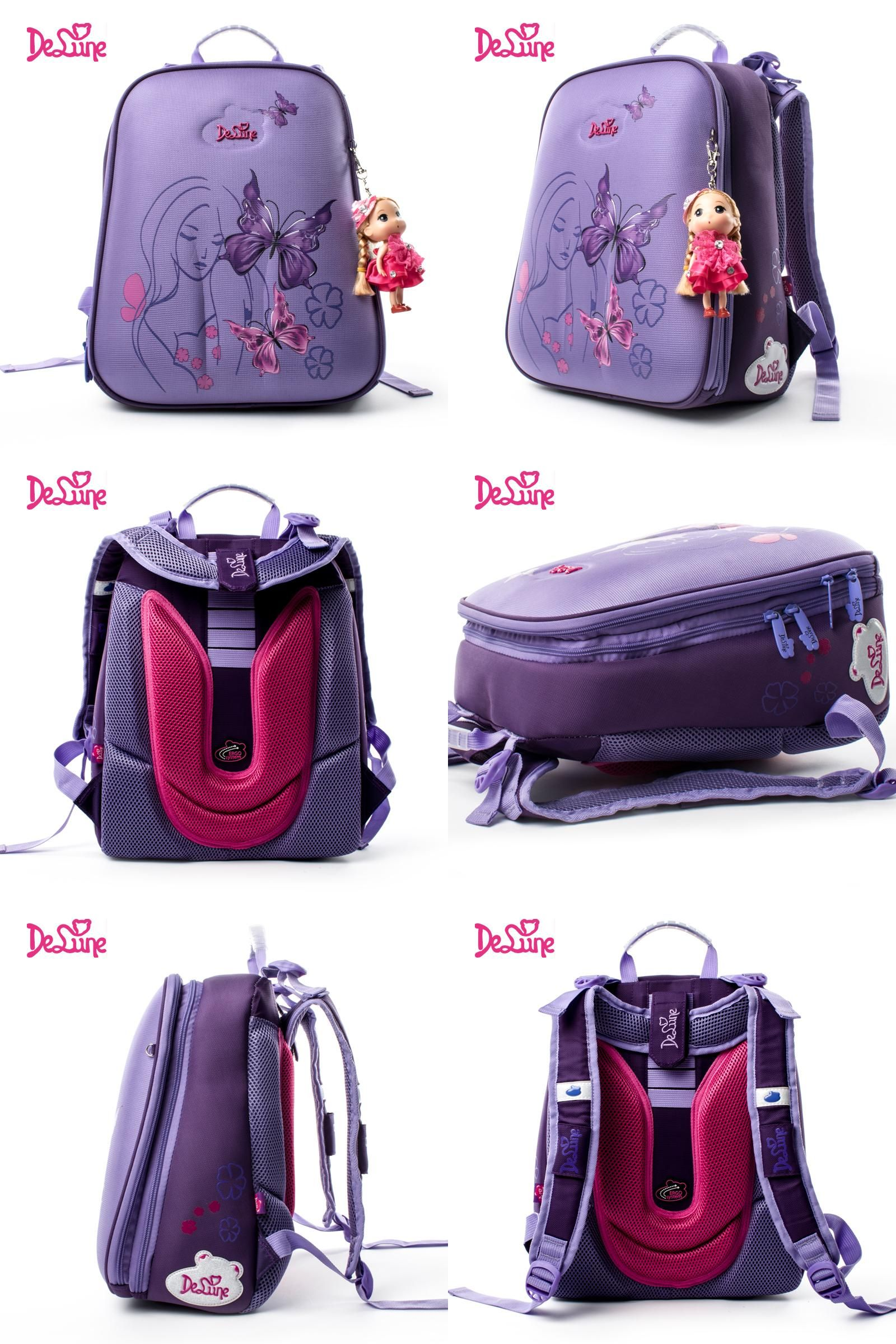 5dee61a7ad39 Visit to Buy] Delune children high quality cartoon school bags boys ...