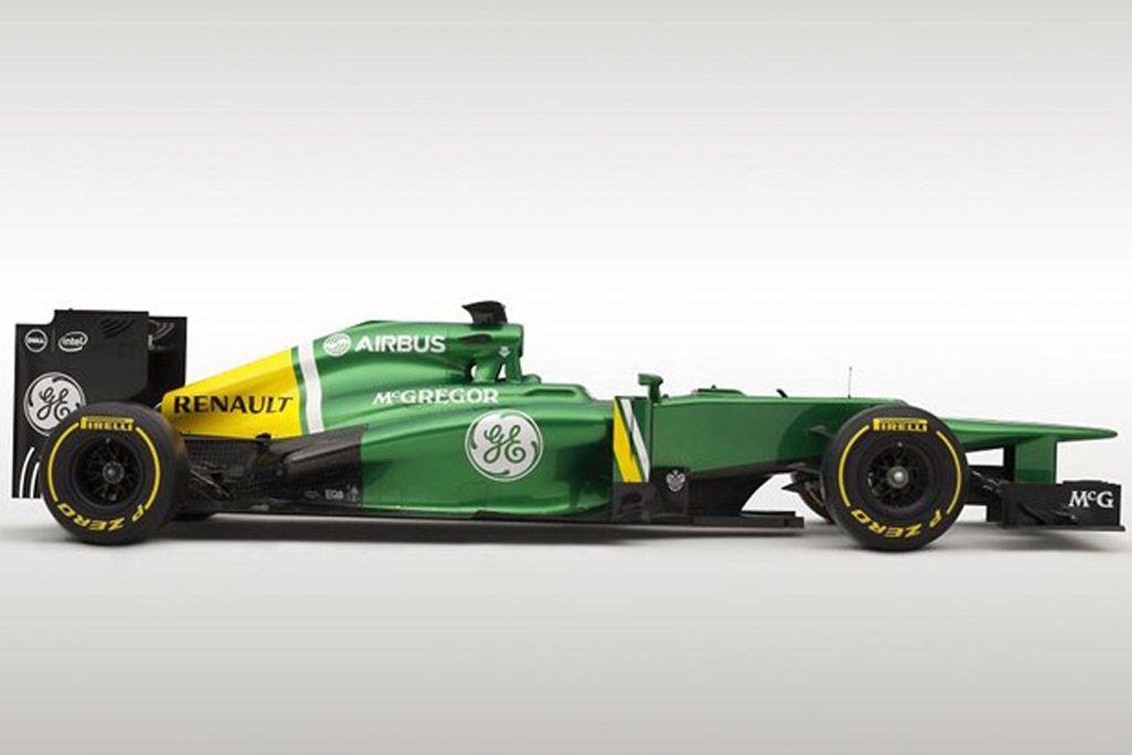 Formula 1 Cars Caterham Ct03 2013 Formula One Race Car Caterham Renault Formula 1 New Drivers