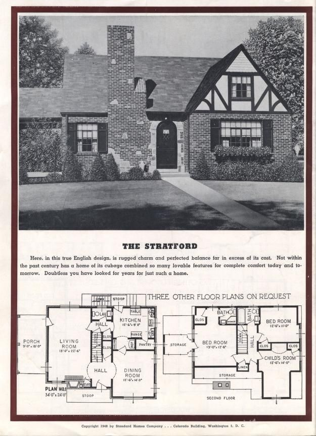 Homes Of Today And Tomorrow B 48 Standard Homes Co