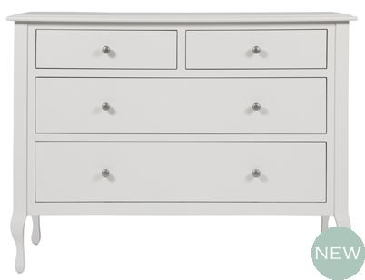 Rosalind Dove Grey Wide Chest Of Drawers Ideas For The