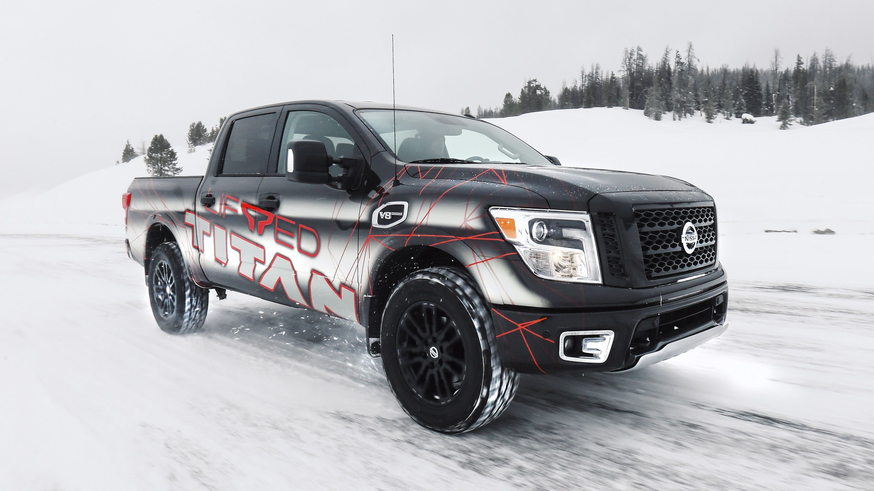 Nissan TITAN And TITAN XD Get A New Lift Kit From Icon