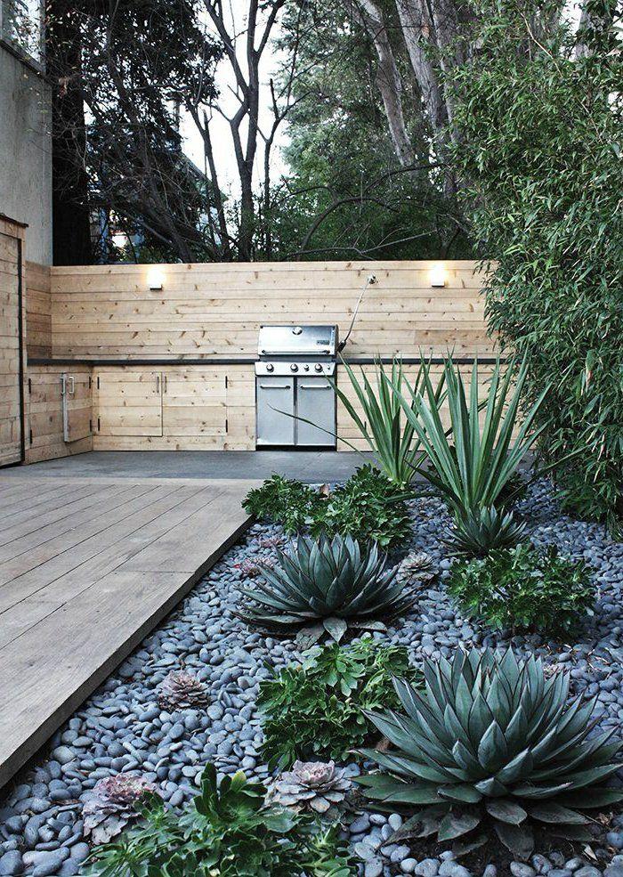 le jardin paysager tendance moderne de jardinage jardin pinterest jardin. Black Bedroom Furniture Sets. Home Design Ideas