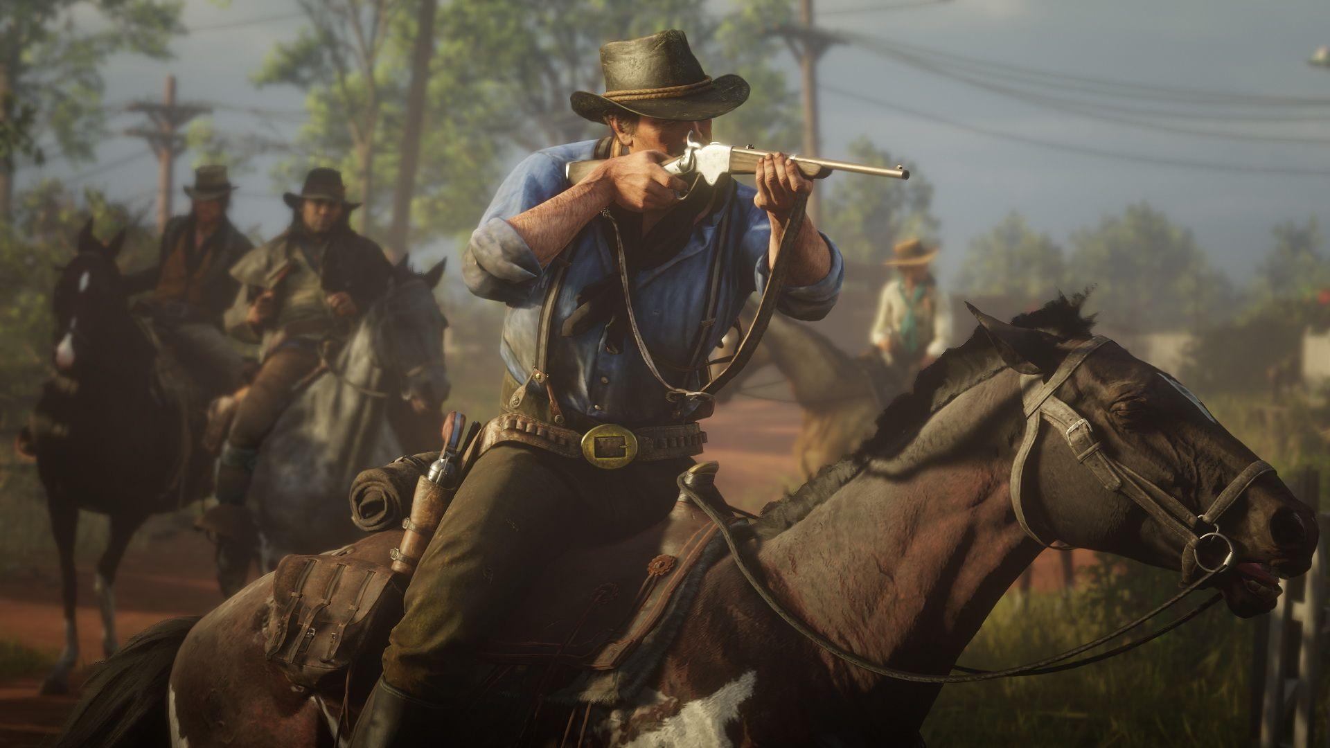 First Look Previews Of Red Dead Redemption 2 Rockstar Games Videojuegos Personajes De Videojuegos Red Dead Redemption