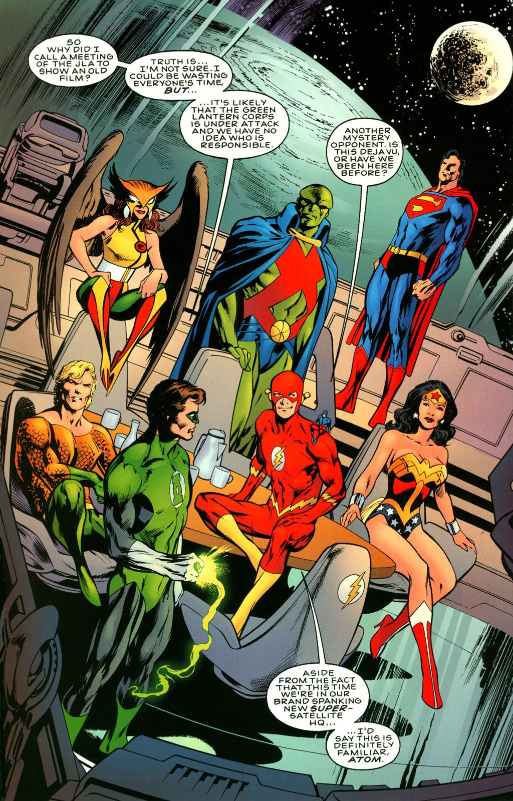 JLA : Another Nail Issue #1 - Read JLA : Another Nail Issue #1 comic ...