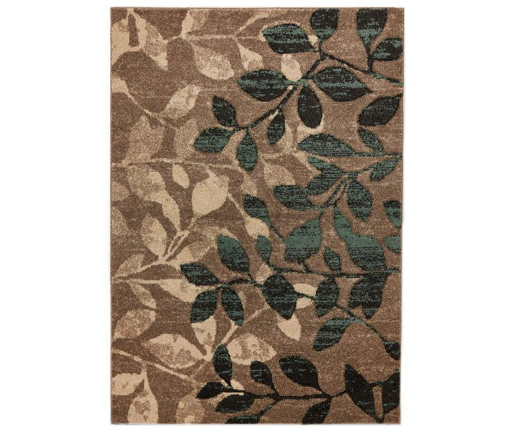 Living Colors Nobel Leaves Area Rugs Area Rugs Affordable Area