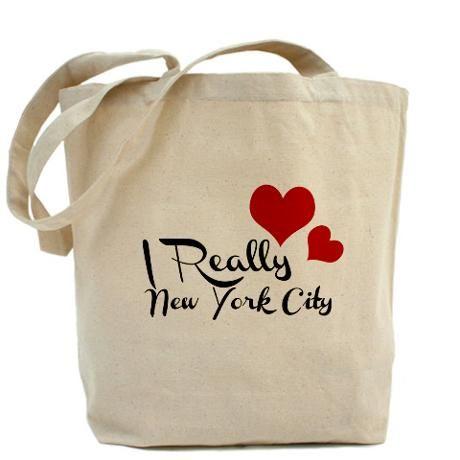 c4c50ed60c I Really Love Heart New York City Tote Bag