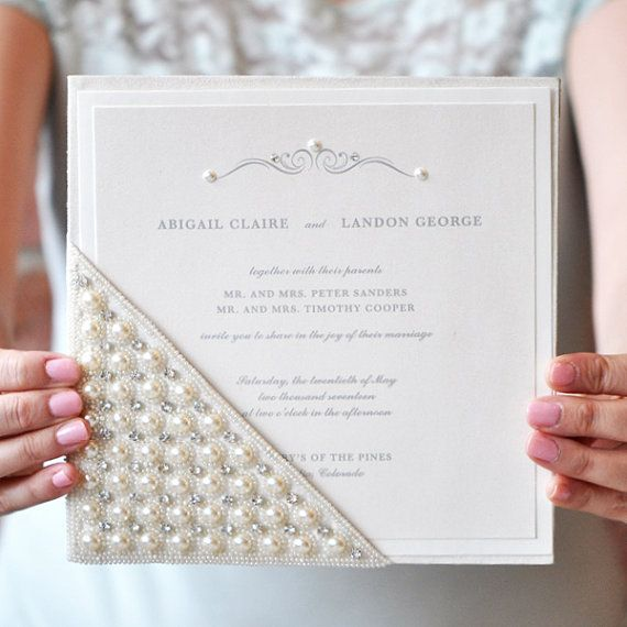 Glamorous Wedding Invitation Abigail Collection Sample Kit By Engaging Papers Glamorous Wedding Invitations Wedding Invitation Cards Wedding Invitations