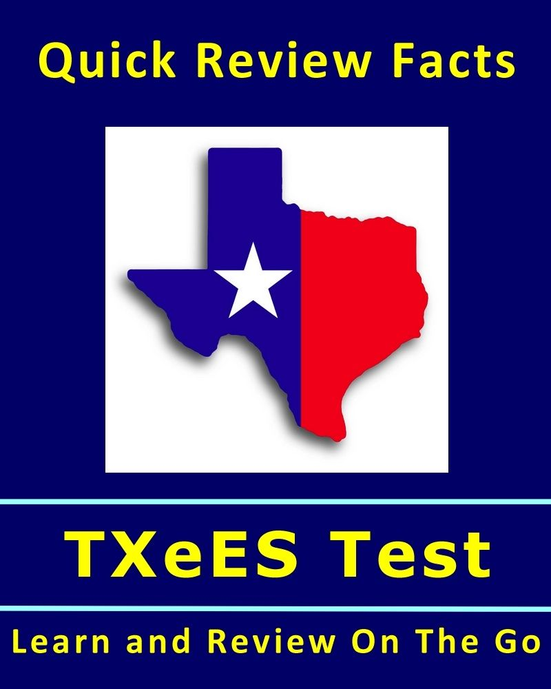 450+ Quick Review Facts for TExES Certification Test | School ...