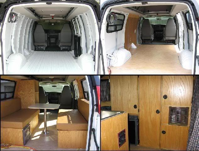 DIY Van Conversions