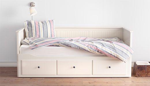 Bedbank En Logeerbed.Hemnes Bedbank Logeerbed Nice To Put In Apartment Ikea Bed