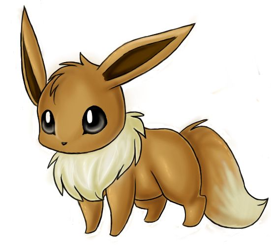 Day 23: a pokemon which reminds you of a friend A sweet little eevee:)