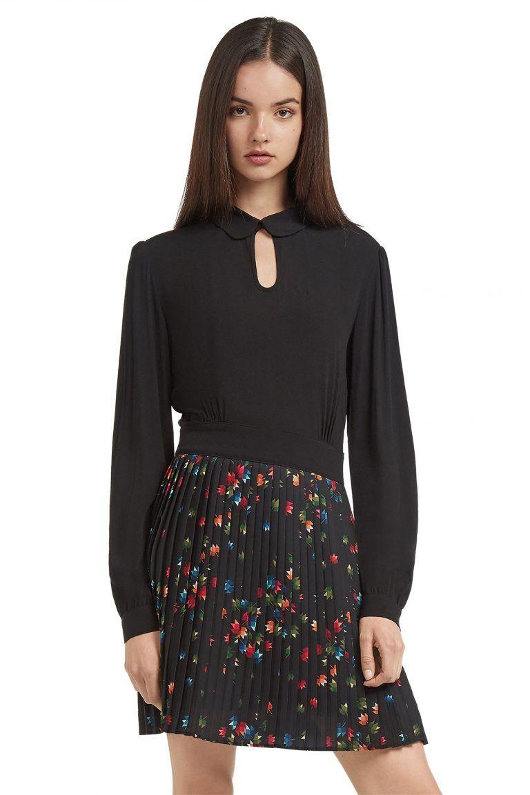 609f45bcc78 Trussardi Jeans γυναικείο φόρεμα πλισέ εμπριμέ - 56D00166-1T001505 ...
