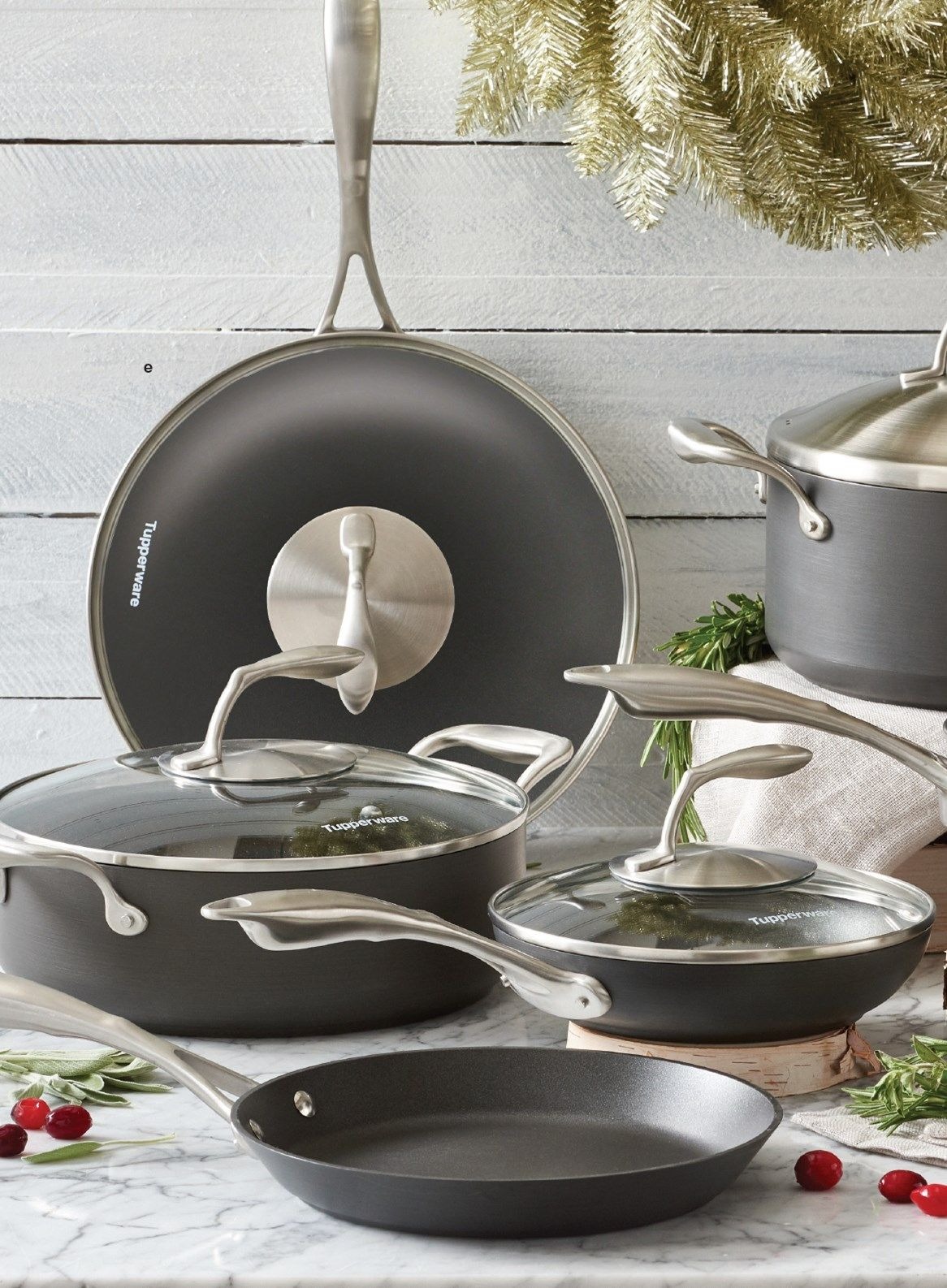 Tupperware Chef Series Cookware Set Fall Holiday 2018 Tchef Fry Pan