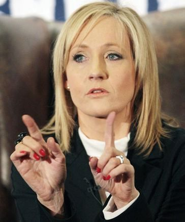 J K Rowling The Hands Handprints Of The Uk Author Harry Potter Rowling Jk Rowling Harry Potter