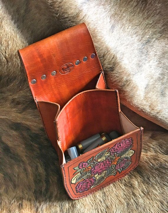 Leather Shooting Pouch Bag By Alooather