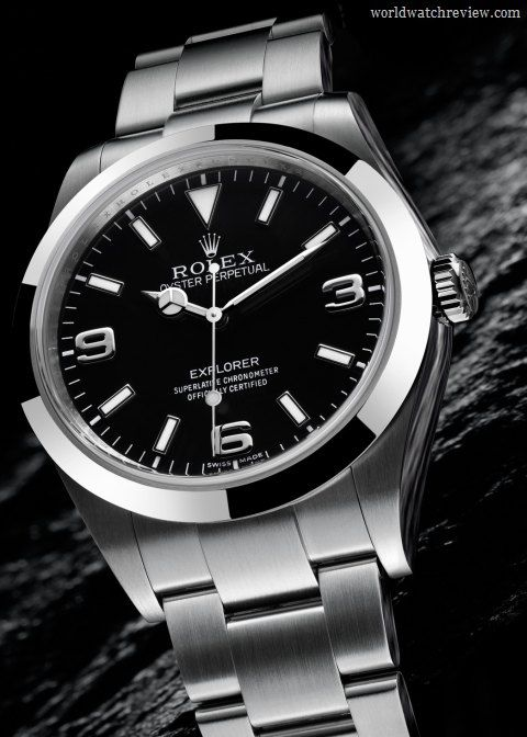 82156b58672 Rolex Oyster Perpetual Explorer 39mm automatic wrist watch (ref. 214270    77200)  6