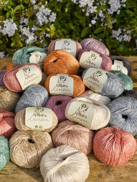 El blog de Dmc: Nuevo Natura Linen: algodón y lino   HILOS/LANAS ...