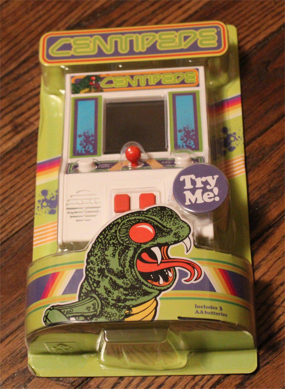 Handheld Mini Arcade Game Centipede Atari Classic Game