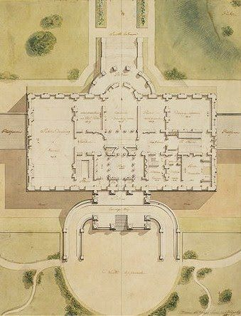 Early American Gardens White House Tour Architecture Drawing Architecture Drawings