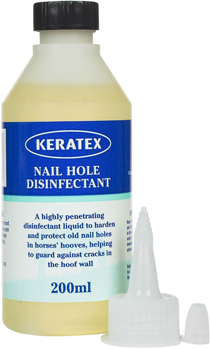 Nail Hole Disinfectant for Hroses - 200 ml | Products | Nail holes ...