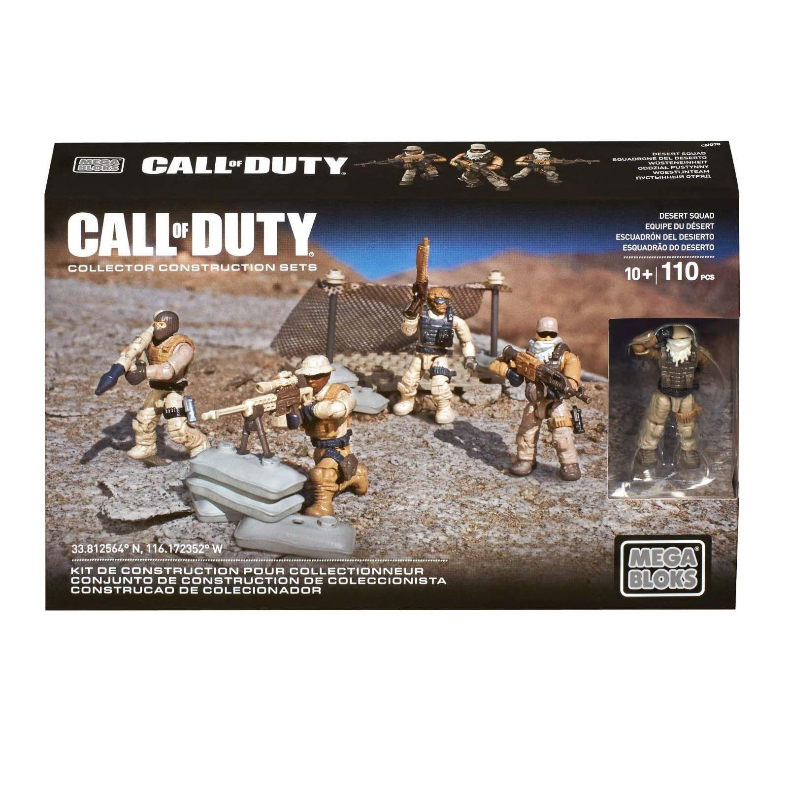 Mega Construx Call Of Duty Desert Sniper Building Set New Fast Free Shipping