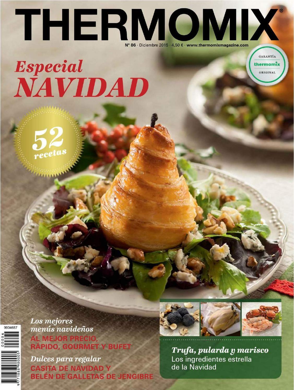 Mis Recetas De Cocina Thermomix   Revista Thermomix Diciembre 2015 Libros Y Revistas De Recetas De