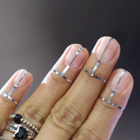 23 Fall Nail Designs You're Going to Fall In Love With: FUTURISTIC TIPS - 34 Fall Nail Designs You're Going To Fall In Love With Shapes