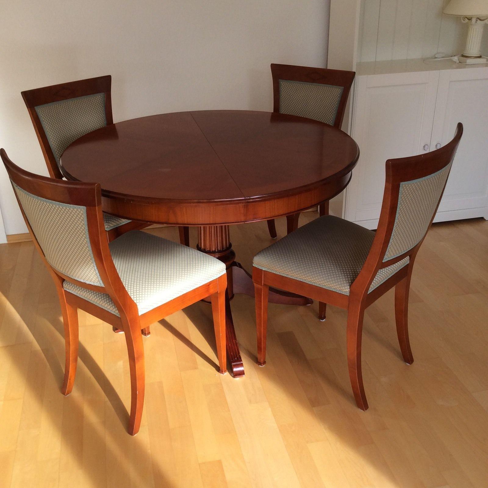hochwertige selva stil auszieh tisch und 4 st hle ambiente f r weihnachten ebay m bel. Black Bedroom Furniture Sets. Home Design Ideas