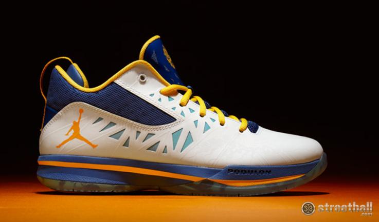 Chris Paul new Jordan CP3.V Year of the Dragon basketball shoes.
