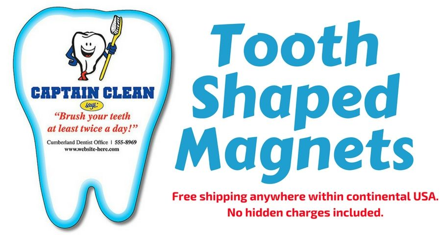 Effective And Affordable Way To Promote Your Dental Service And To - Custom magnets for cars   promote your brand