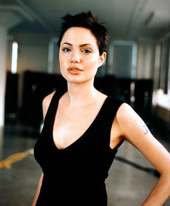 Angelina Jolie Kapsels Haar